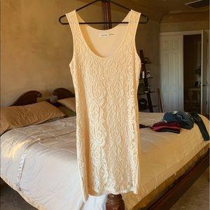 Calvin Klein lacy overlay dress